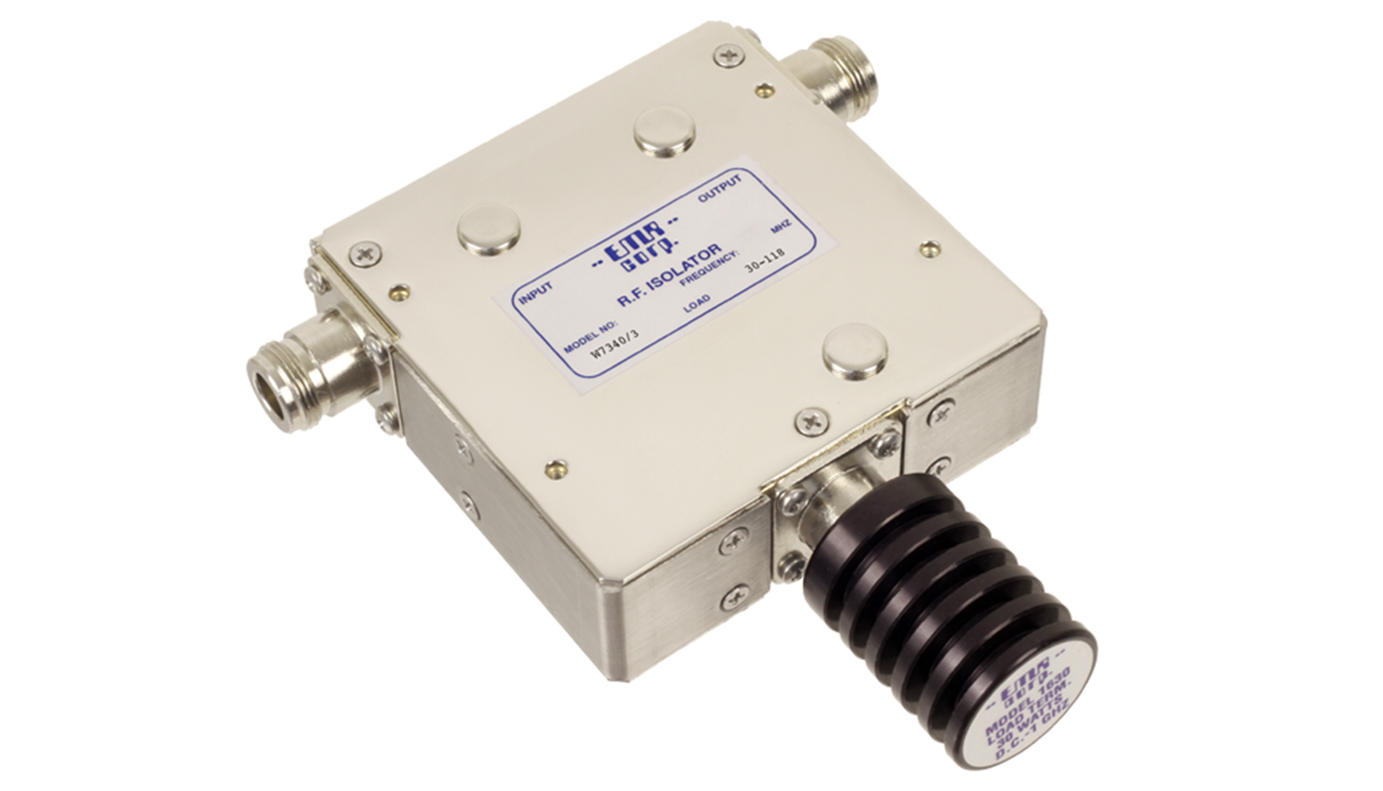 Isolator Broadcast 88-108 MHz WFM7340/3 Input Power 50 W