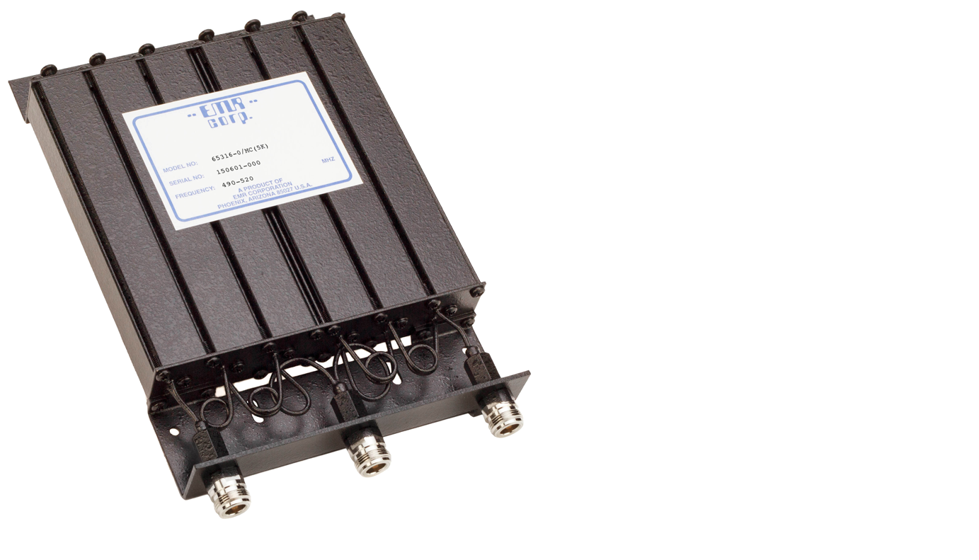 Duplexer Mobile 490-520 MHz Model 65316-0/MC(5K)