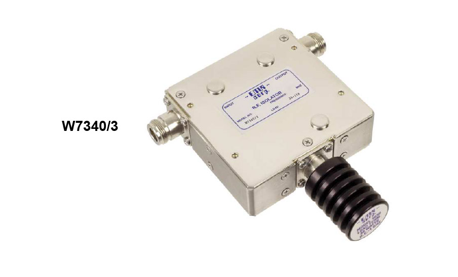 Isolator 66-88 MHz W7340/3 Input Power 50 W