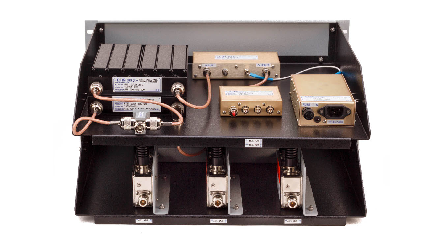 Compact Combiner SYS Series 300-650 MHz UHF25432/SYS-50