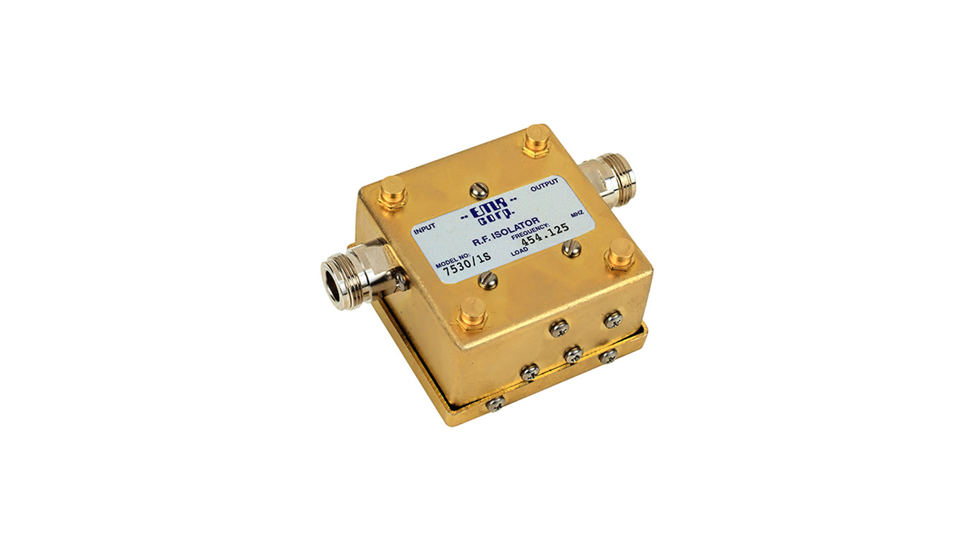 Isolator Broadcast 300-650 MHz 7530/1S Input Power 20 W