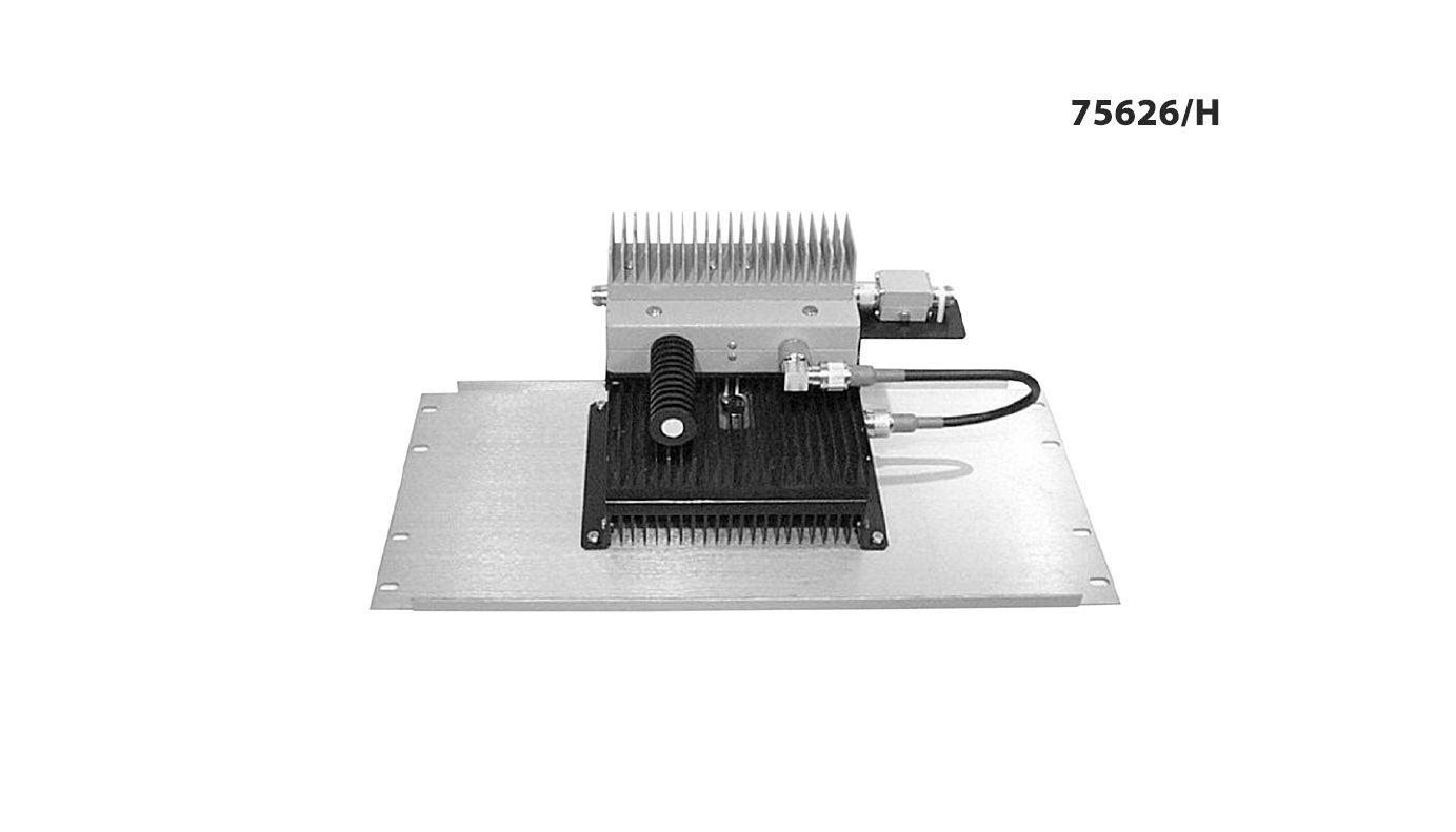 IM Panel 300-650 MHz 75626/H Input Power 250 W