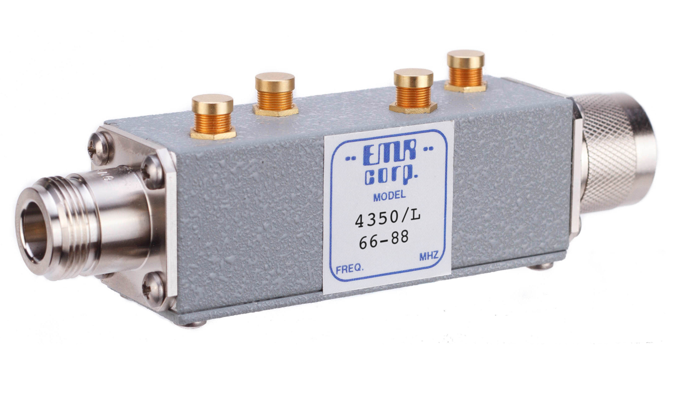 Low Pass/High Pass Filters Model 4350/L
