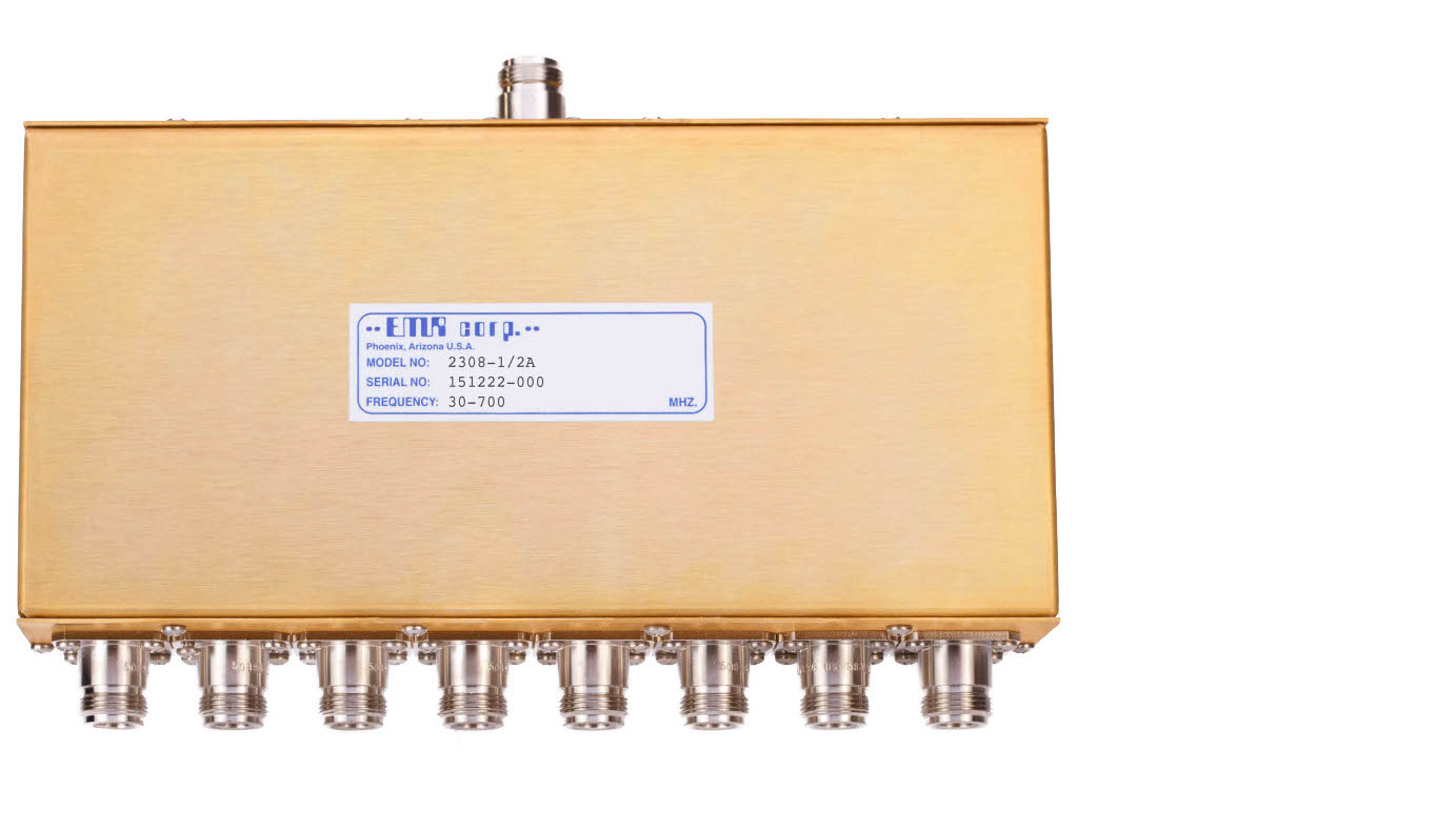 Power Dividers, Receiver 30-512 MHz Model 2308-0/2A