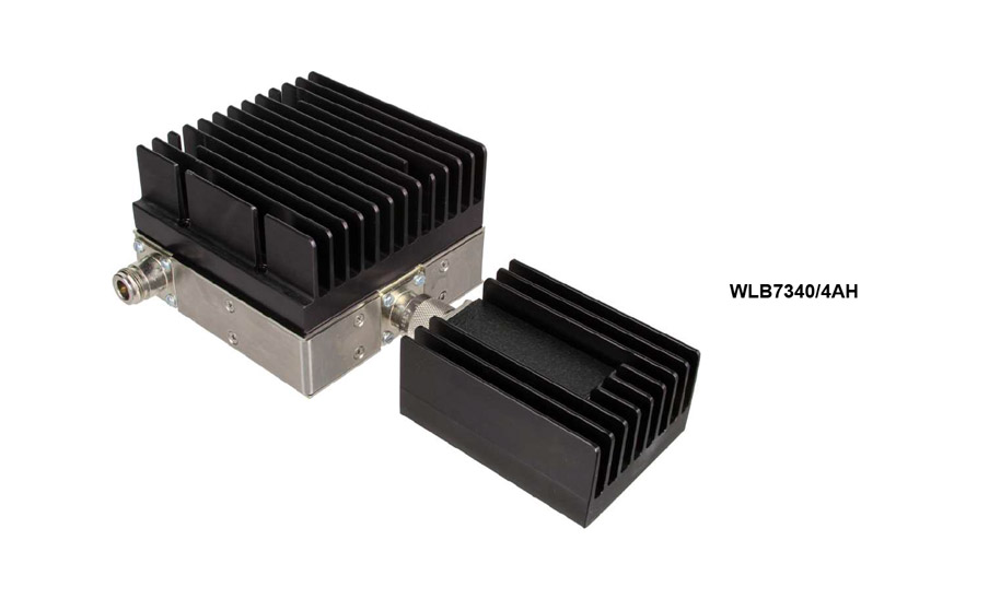 Isolator 35-50 MHz WLB7340/4H Input Power 50 W