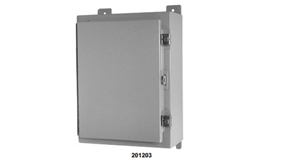 Weather Resistant NEMA Cabinet for Dual Pass Multicoupler Model 201203