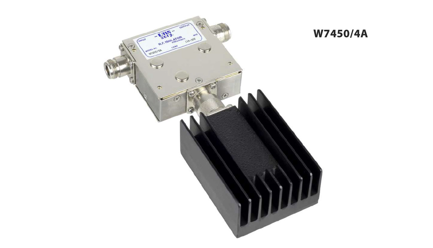 Isolator 146-226 MHz W7450/4A  Input Power 125 W