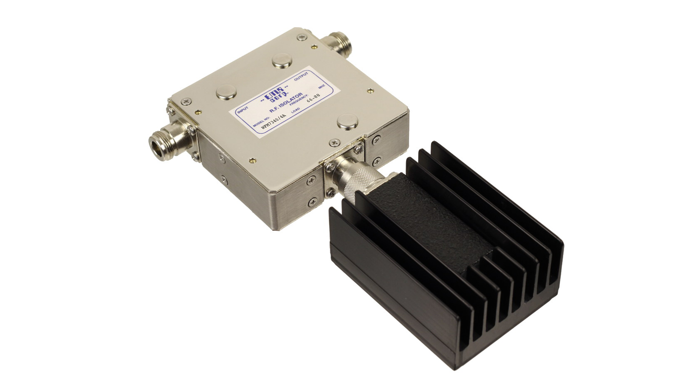 Isolator 66-88 MHz Model W7340/4A Input Power 50 W