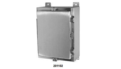 Weather Resistant NEMA Cabinet - Stainless Steel Model 201102