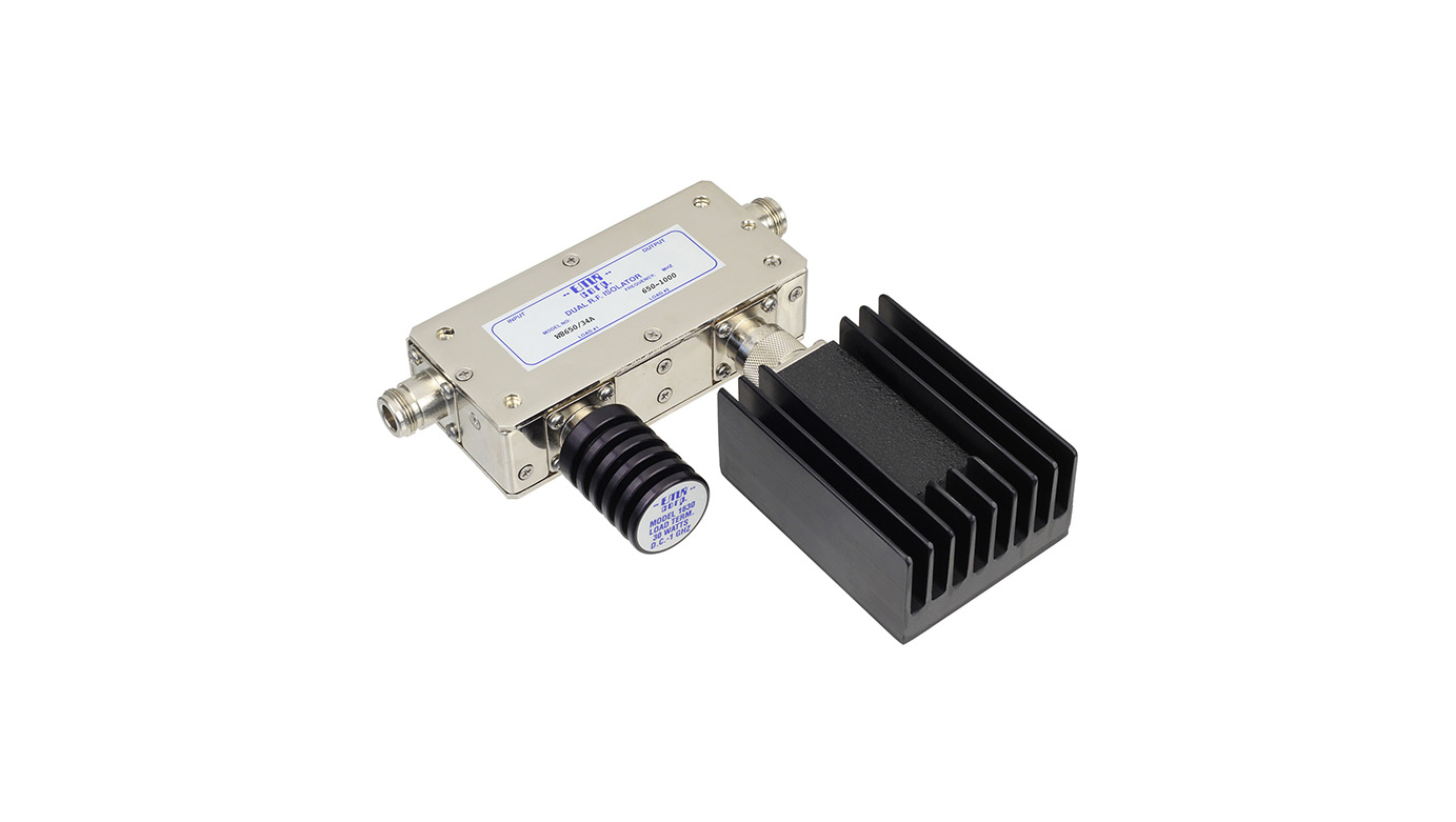 Isolator 650-1000 MHz W8650/34A Input Power 125 W