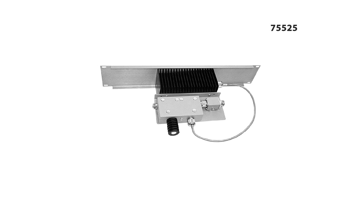 IM Panel 300-650 MHz 75525 Input Power 125 W