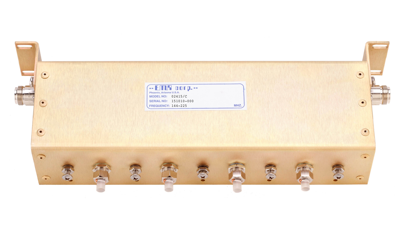 Receive Preselector - Band Pass 144-225 MHz Model 02415/C