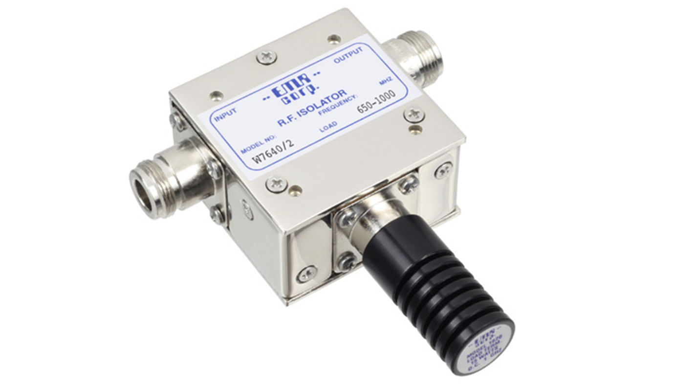 Isolator Broadcast 944-960 MHz WFM7640/2 Input Power 30 W