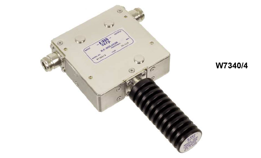 Isolator 66-88 MHz W7340/4 Input Power 50 W