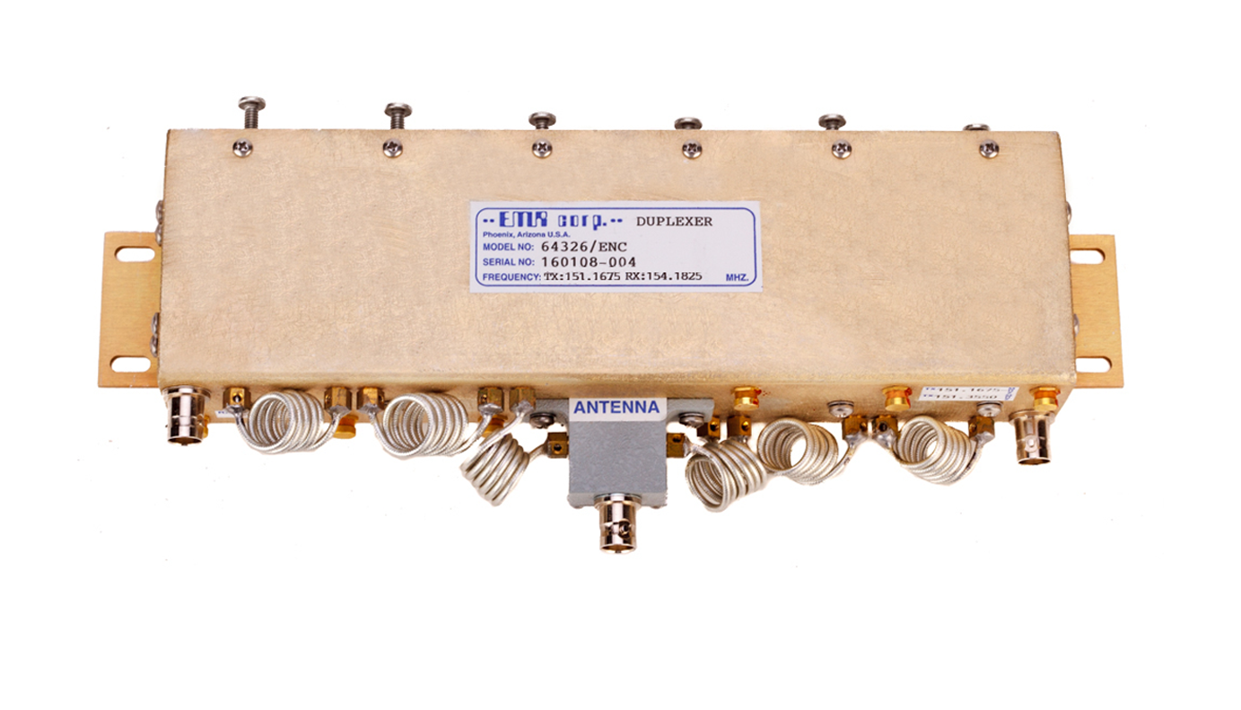 Duplexer Pass Notch 144-174 MHz Model 64326/ENC