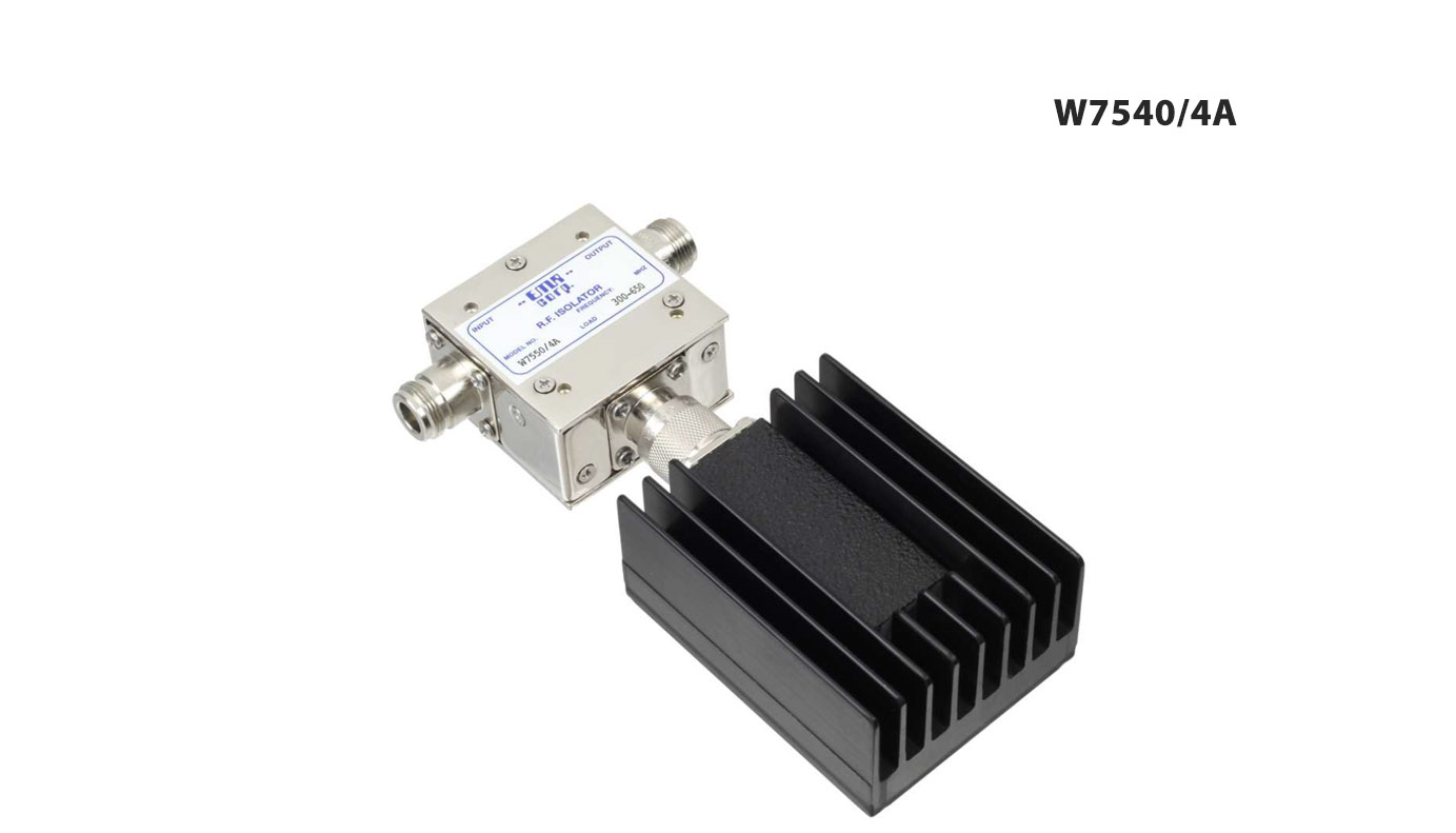 Isolator 300-650 MHz W7540/4A Input Power 125 W