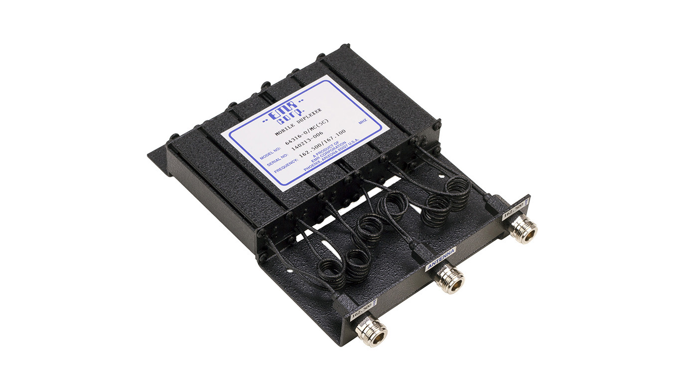 Duplexer Mobile 217-222 MHz Model 64316-0/MC(5G)